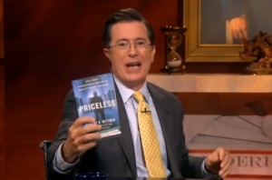 Stephen Colbert show Wittman's book on The Colbert Report